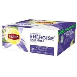Earl Grey Energise sélection Détente Black Tea Thé Lipton