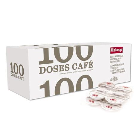 Carton Ristretto 100 dosettes Malongo ESE