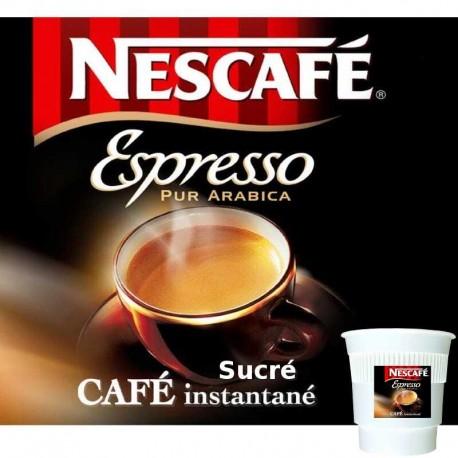 Espresso Nescafé sucré Gobelet Pré-Dosé Premium