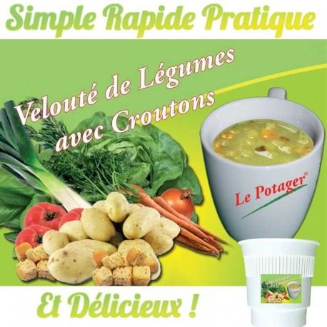 Velouté Légumes Croutons Premium