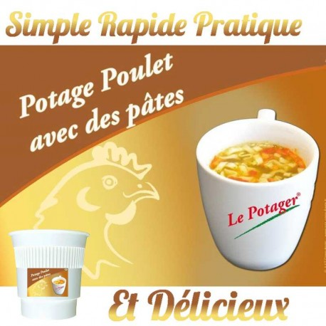 Potage Poulet Pates Premium