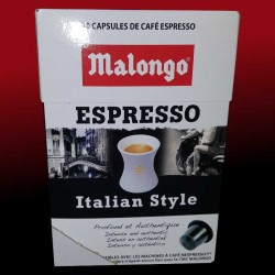 Compatible Nespresso Espresso Italian Style Malongo