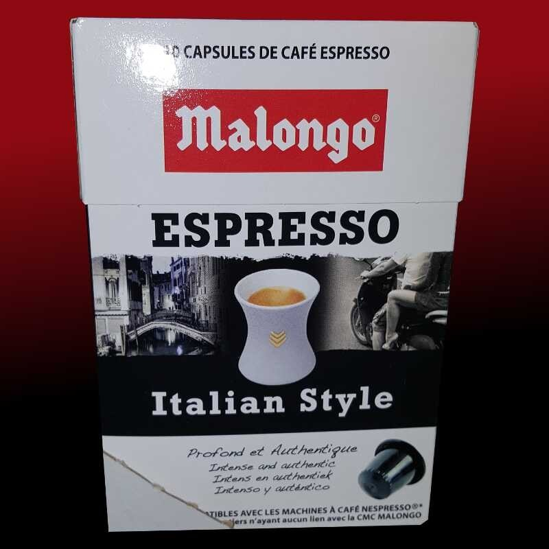 nespresso compatibles espresso italian style de malongo. Black Bedroom Furniture Sets. Home Design Ideas