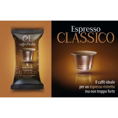 Classico Compatible Nespresso par Caffè D'Italia