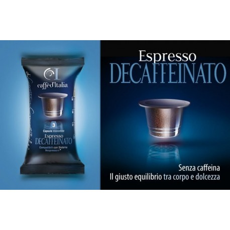 decaffeinato le d ca compatible nespresso par caff d italia. Black Bedroom Furniture Sets. Home Design Ideas