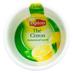 Gobelet THE LIPTON citron sucré Pré-Dosé PREMIUM.