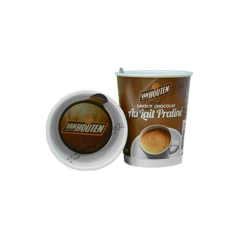 chocolat au lait pralin instantan gobelets pr dos s selectcaff. Black Bedroom Furniture Sets. Home Design Ideas