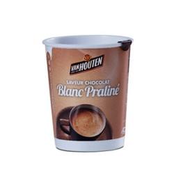 Gobelet CHOCOLAT BLANC PRALINE VAN HOUTEN Pré-Dosé PREMIUM.
